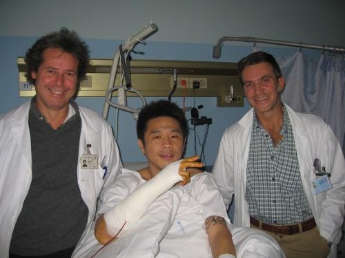 nori haga,marco franchini,chirurgo,operazione,clinica mobile,sbk 2013,corsidiguida.it,motogp 2013,yamaha,mondiale moto 2013