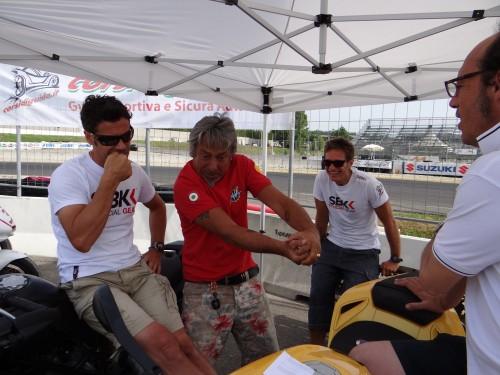 lucky,marco lucchinelli,corsidiguida.it,corso,guida,circuito,campione,mondiale,mazzate