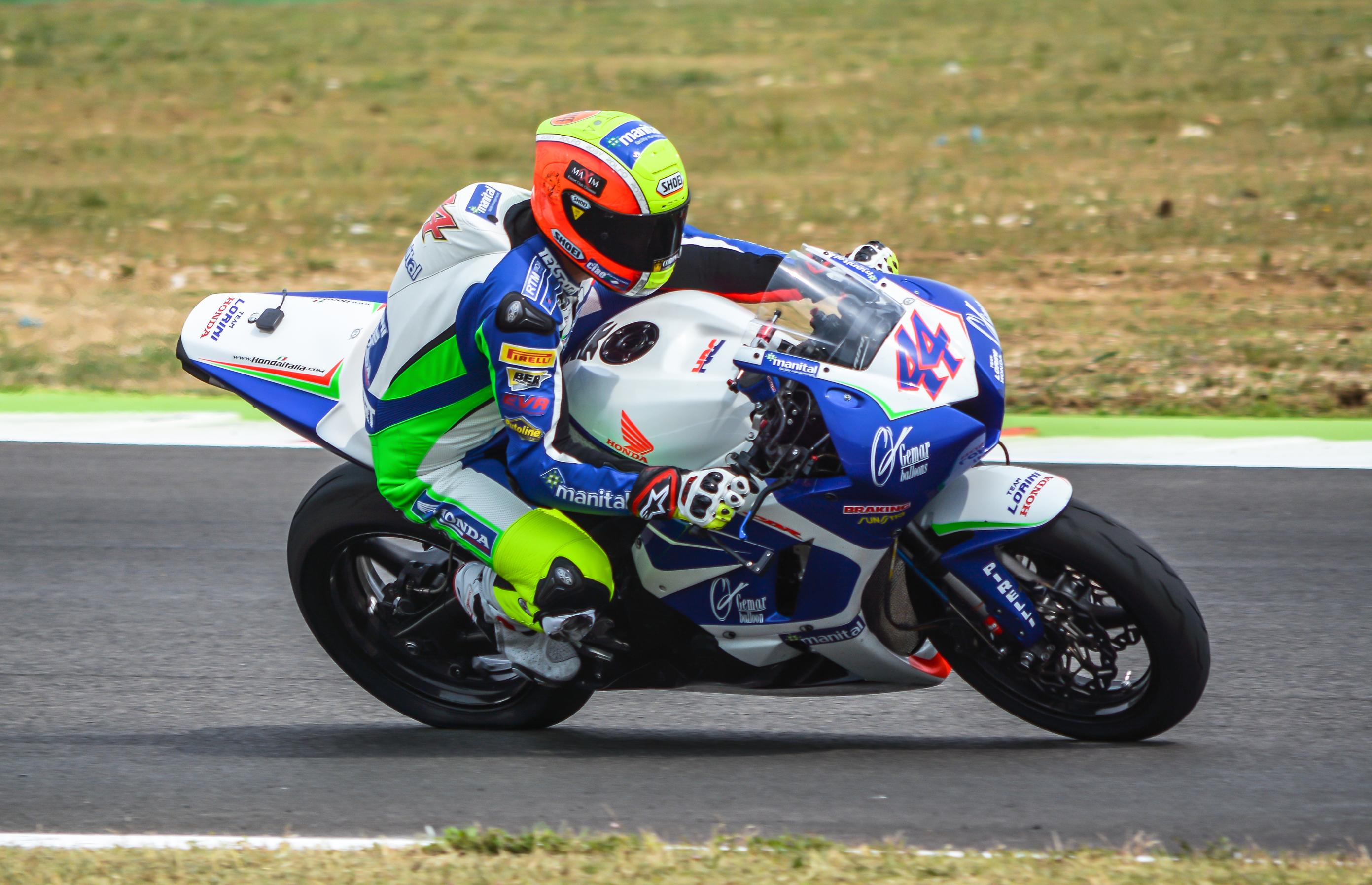 Roberto Rolfo a Misano 2015